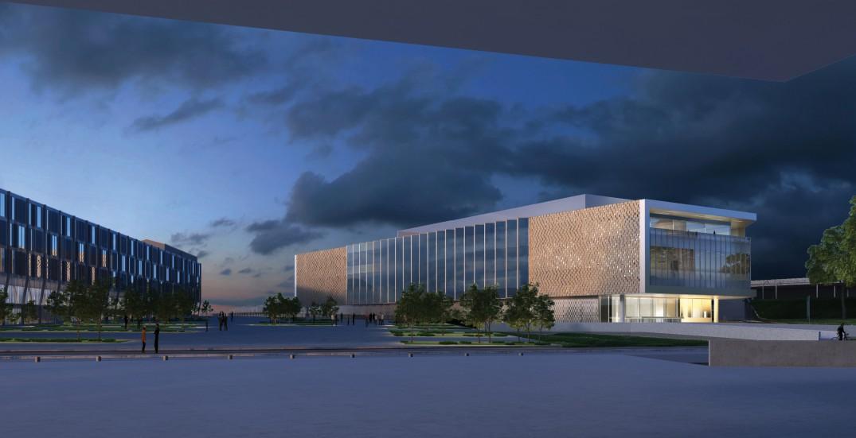 Ville de metz centre des congr s les images du projet for Centre du sablon piscine