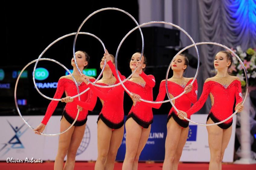 Compétition lorraine de gymnastique rythmique