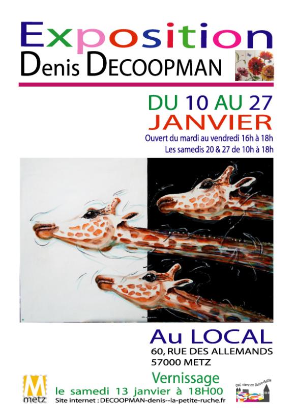 Exposition de peintures de Denis Decoopman - Sortir à Metz