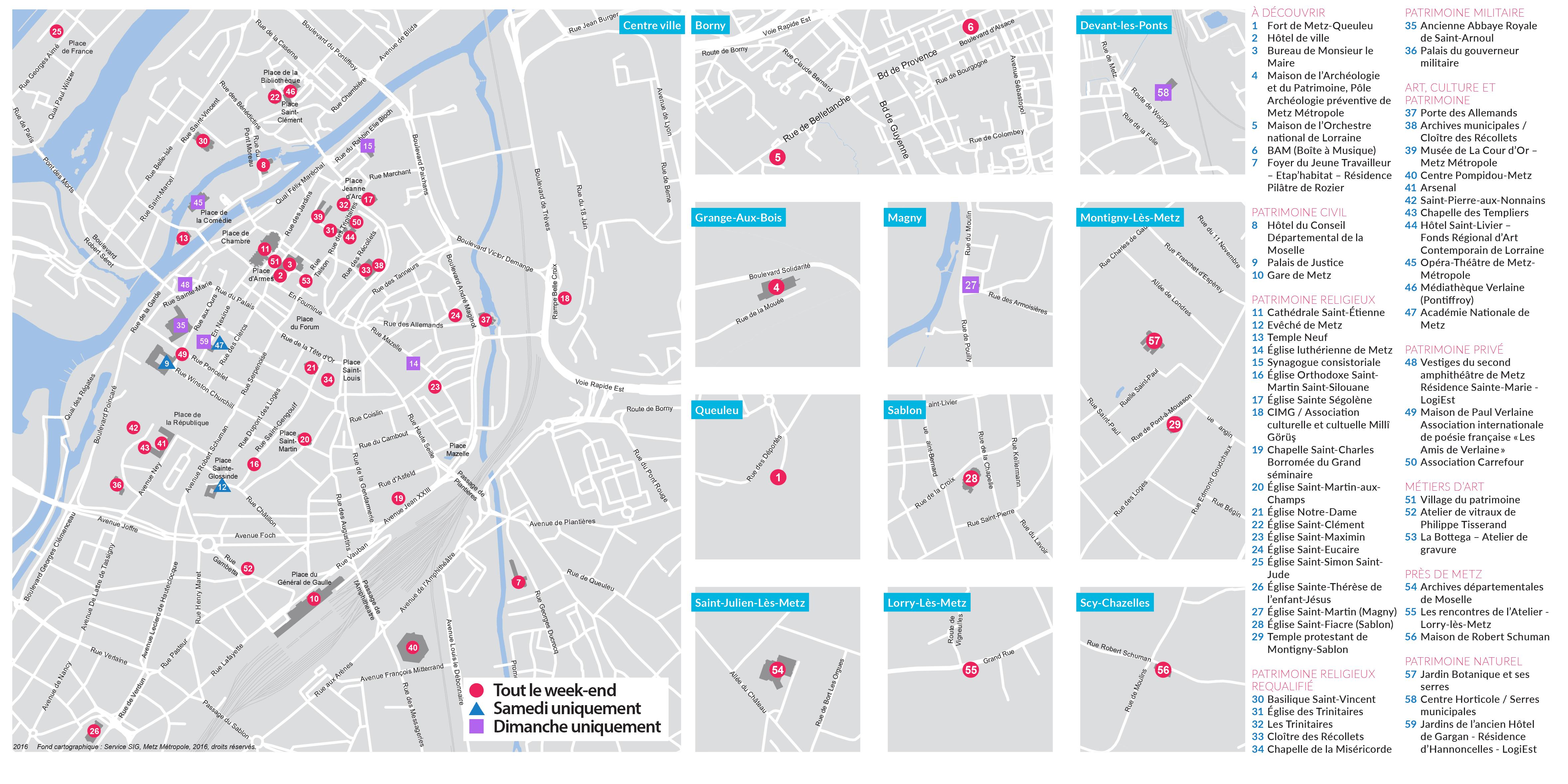 Plan des JEP 2016 - A4