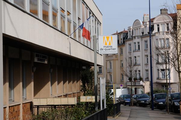 Ville de metz mairie de quartier du sablon for Centre du sablon piscine