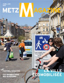 Couverture du Metz Magazine d'avril 2011