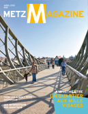 Couverture du Metz Magazine d'avril 2012