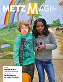 Couverture du Metz Magazine d'avril 2013