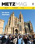 Couverture du Metz Magazine d'avril 2015