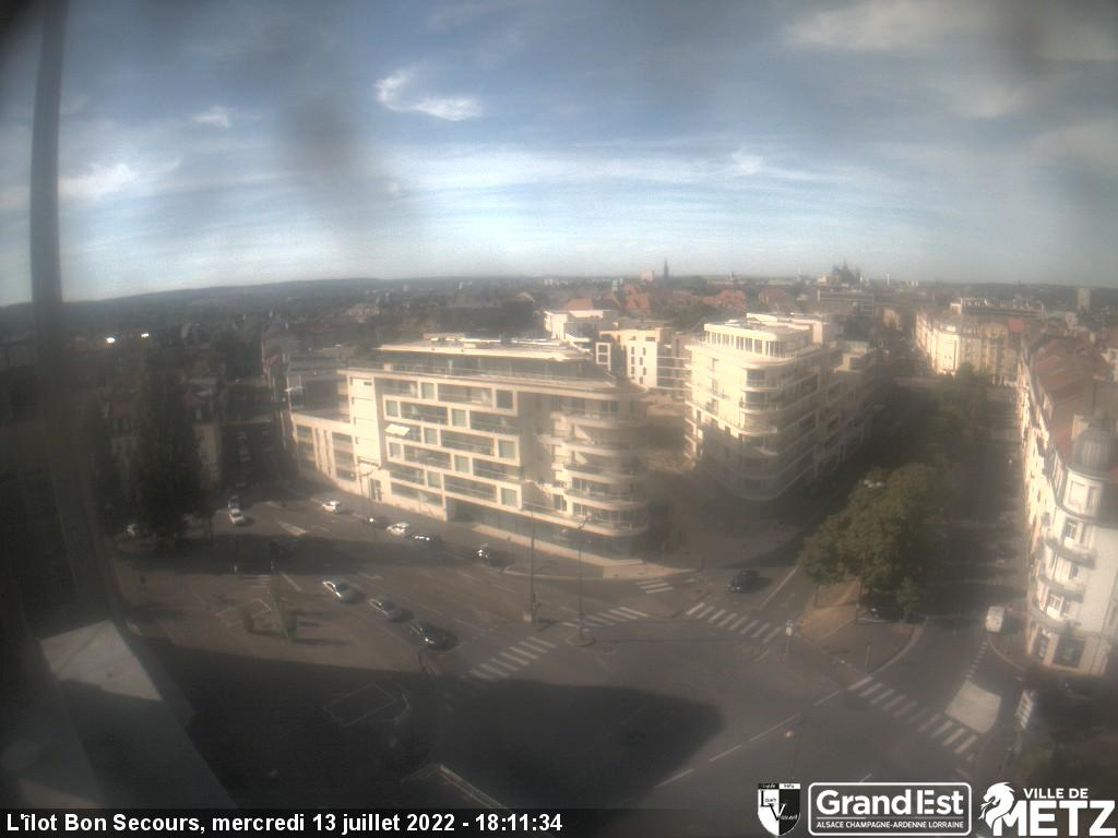 Webcam de l'&Icir;lot Bon Secours